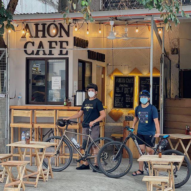 roadside coffee shop - Ahon Cafe in Quezon City