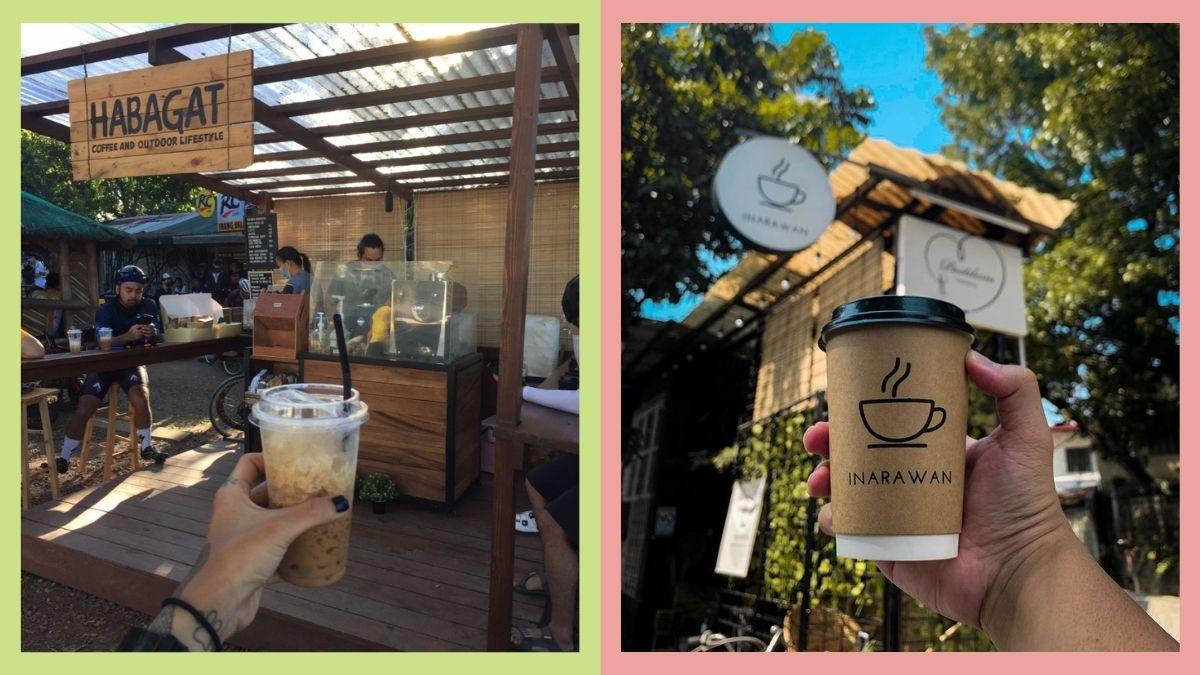 roadside coffee shops: Habagat Coffee in Antipolo, Inarawan Cafe in Marikina