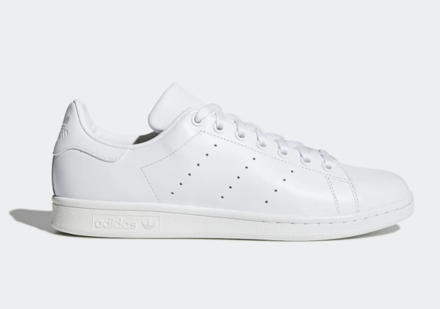 Best white sneakers: Adidas Stan Smith Shoes in Cloud White