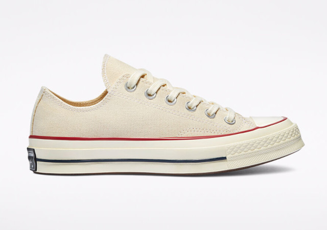 Best white sneakers: Converse Chuck 70 in Vintage Canvas