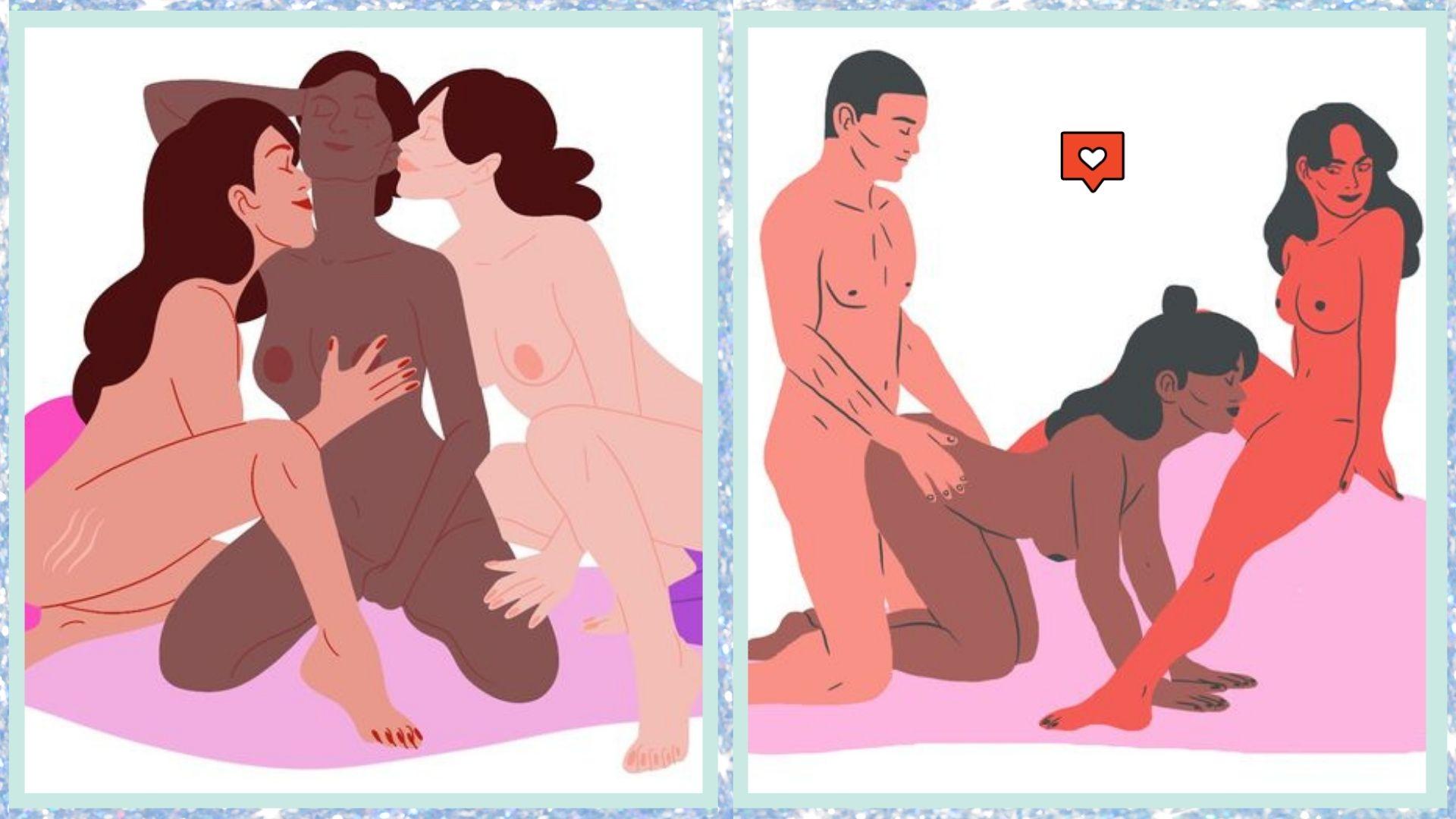 threesome sex position