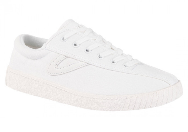 Best white sneakers: Tretorn Nylite