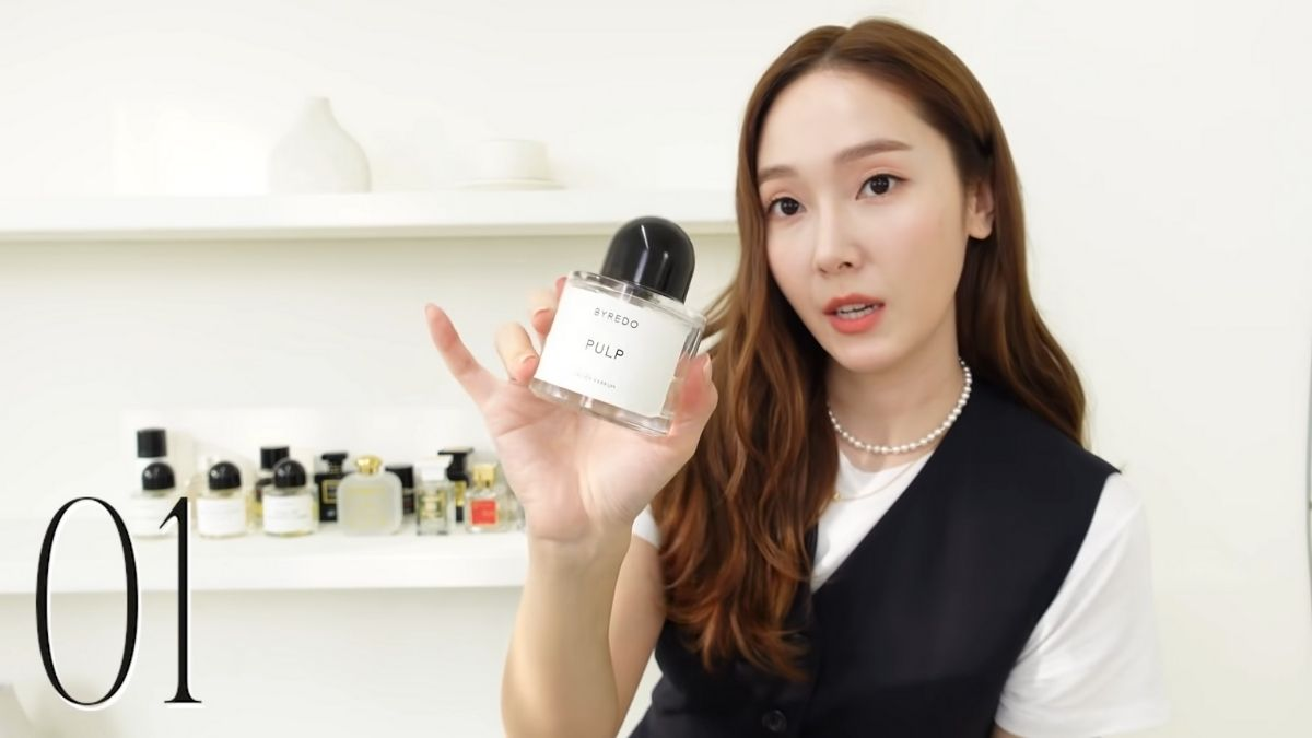 Jessica Jung's perfume collection