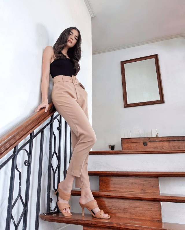 Rhian Ramos neutral-colored outfit 3