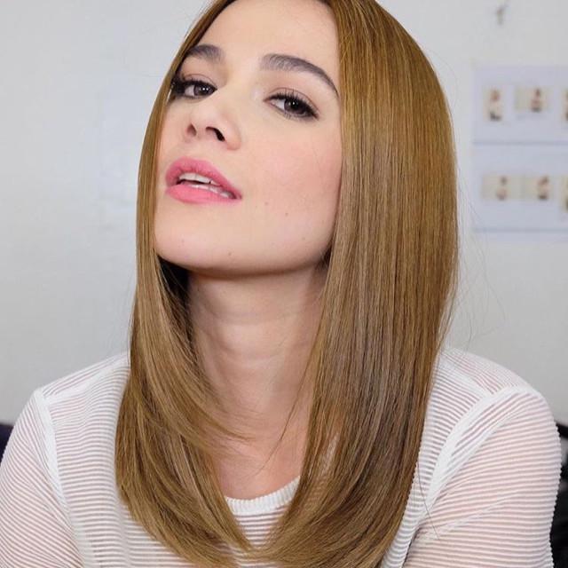 Bea Alonzo hairstyles: layered haircut