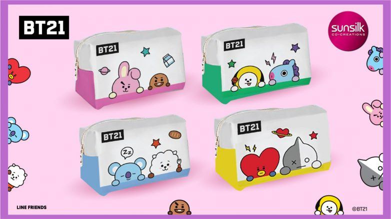 The Sunsilk and BT21 collab