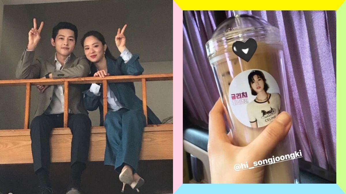 Song Joong Ki sent a coffee truck to Jeon Yeo Bin