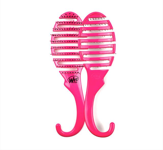 Wetbrush Shower Detangler in Pink Glitter