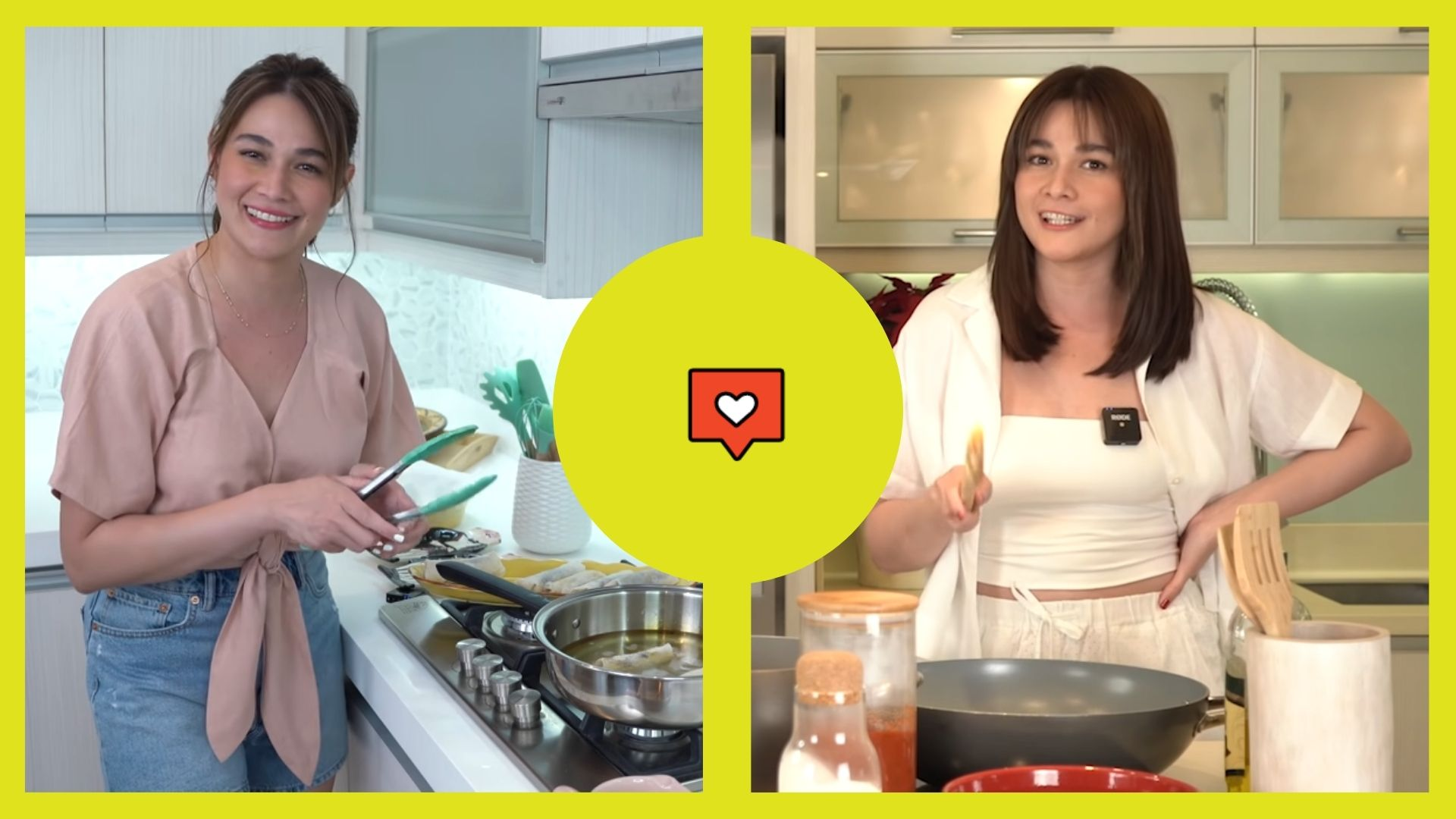 Bea Alonzo's cooking vlogs