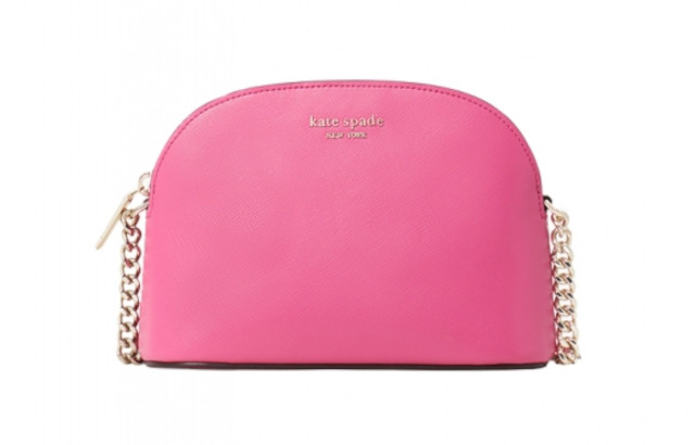 Kate Spade New York Spencer Small Dome Crossbody in Crushed Watermelon