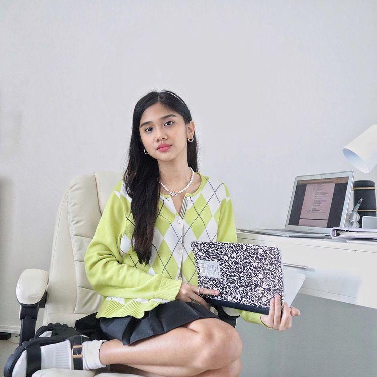 Ashley Garcia's ergonomic office chair
