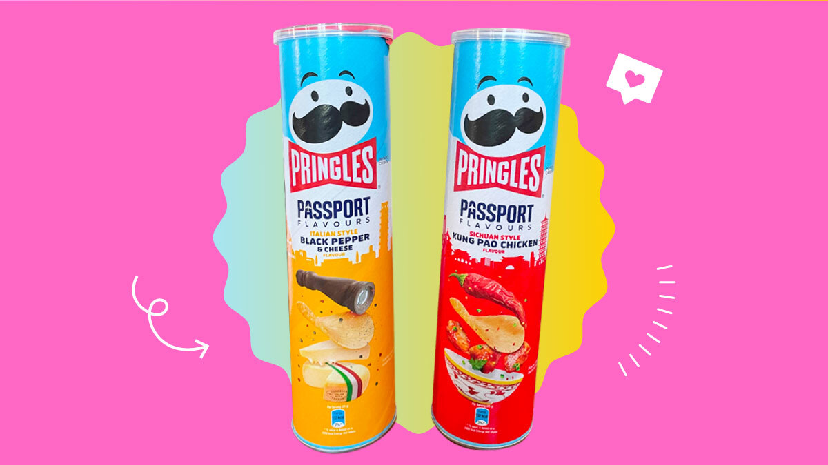 Pringles' Passport flavors: Black Pepper & Cheese, Kung Pao Chicken reviews
