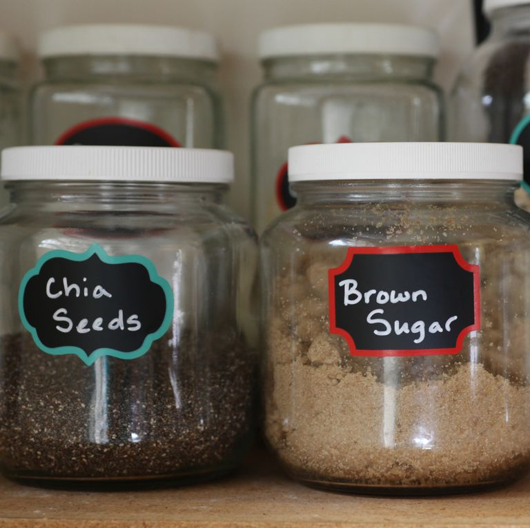 professional home organizing tips - labels