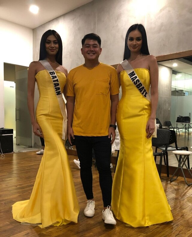 patch magtanong and hannah arnold gowns