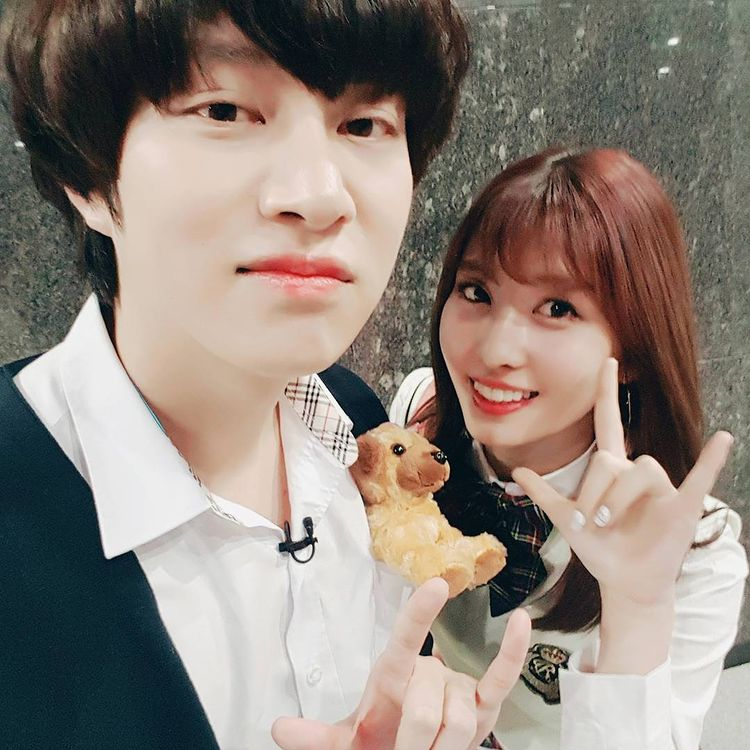 Heechul and Momo's relationship timeline