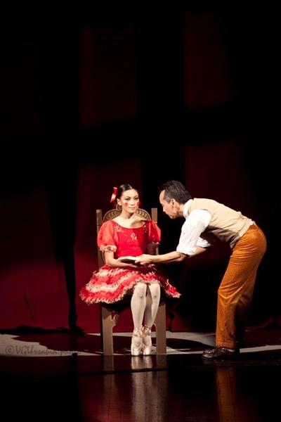 Mika Fabella's ballet experience