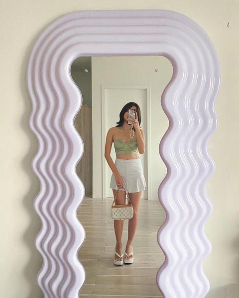 Ashley Garcia's Ultrafragola mirror