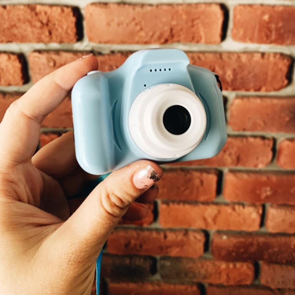 kids camera in blue
