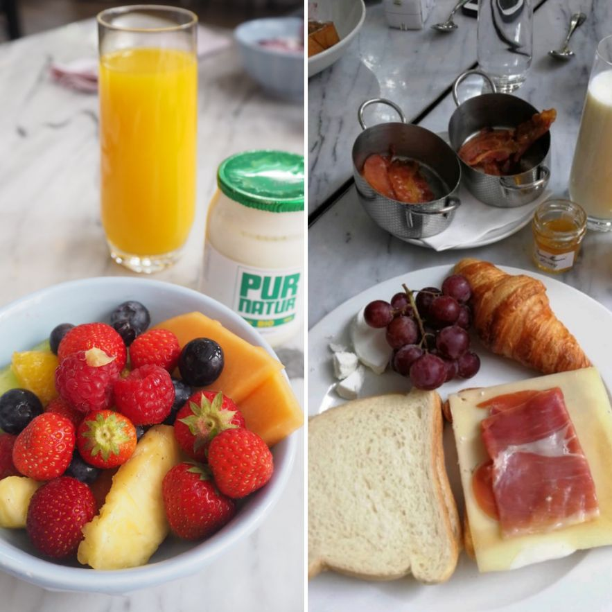 My Perfect Food Day: breakfast buffet at Hotel Pulitzer in Amsterdam