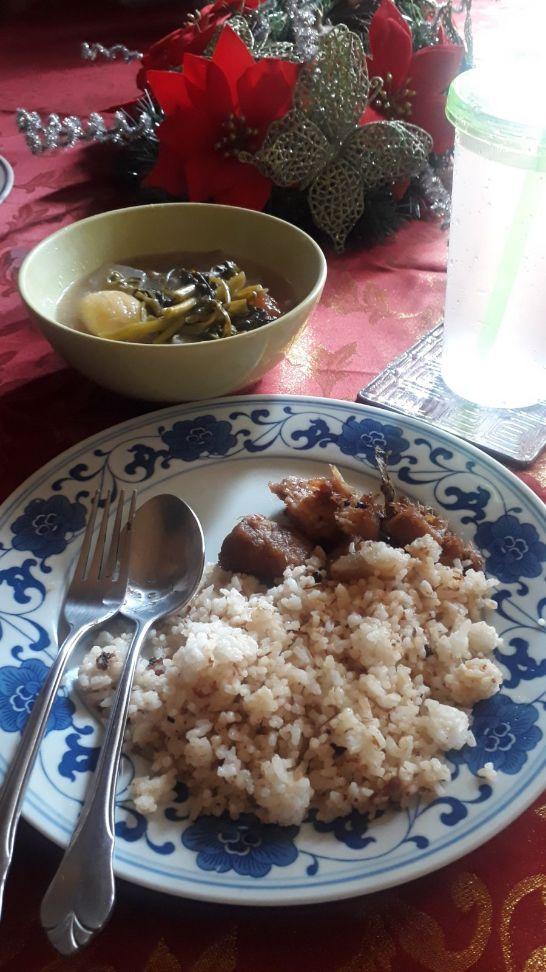 My Perfect Food Day: Homemade sinigang, adobo, and sinangag