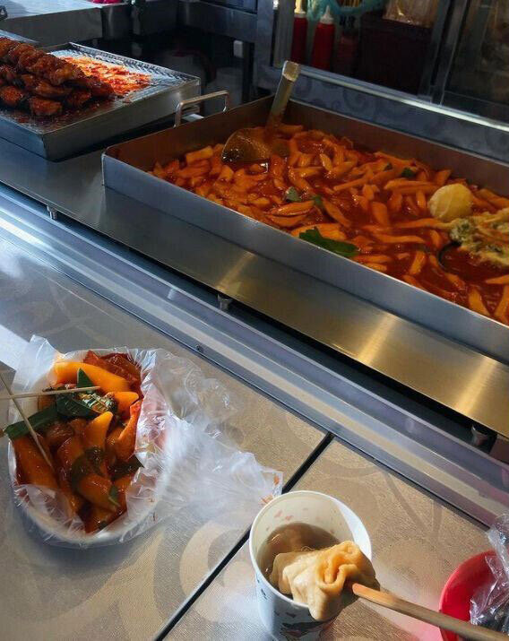 My Perfect Food Day: tteokbokki and eomuk from South Korea