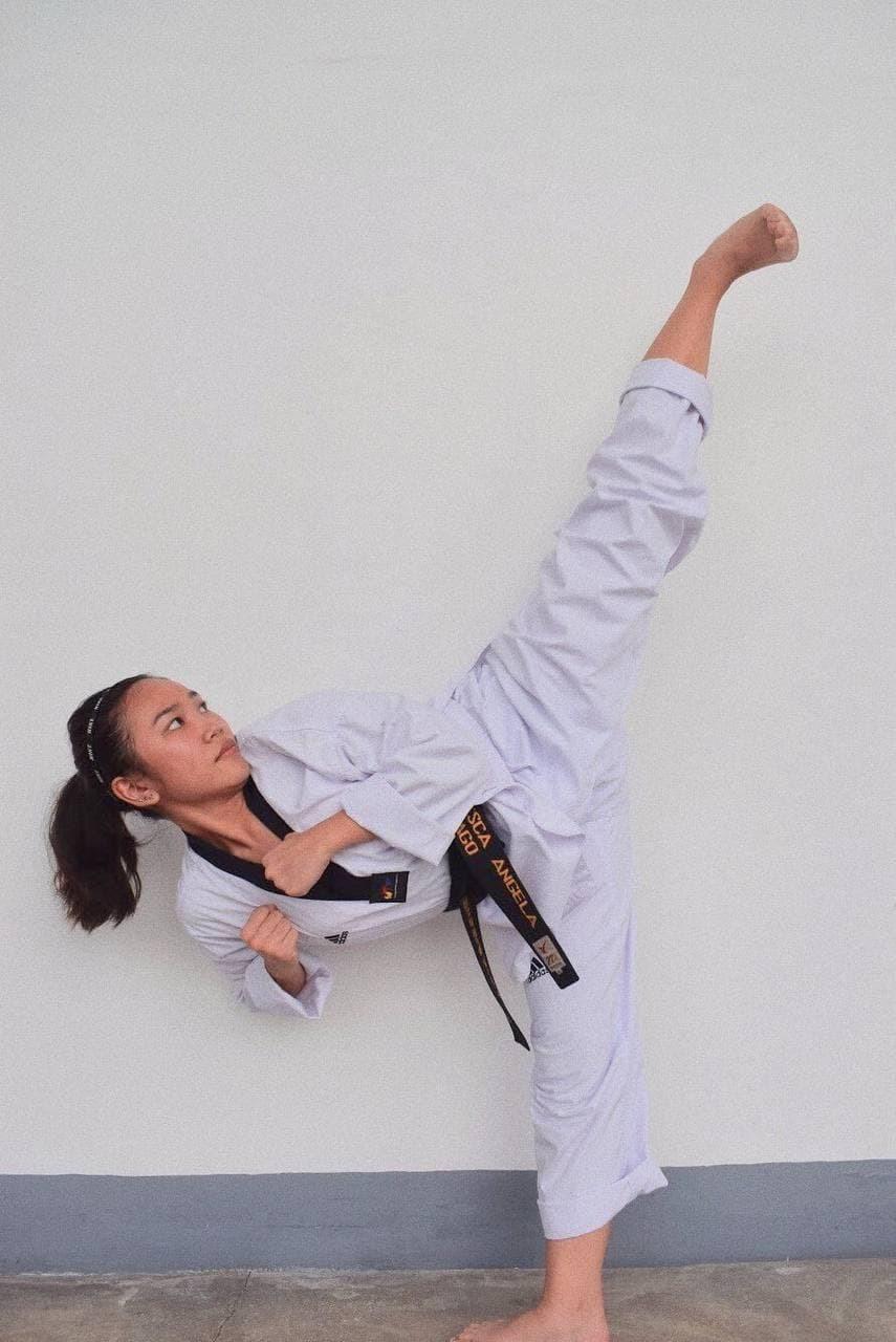 Pinay, taekwondo