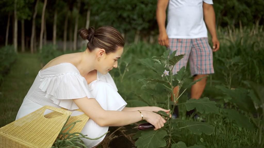 Bea Alonzo adds vegetable garden to Beati Firma: talong area