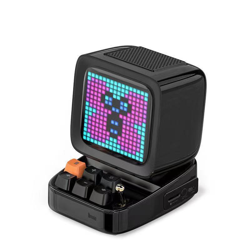Divoom Ditoo Pixel Display Bluetooth Speaker in black