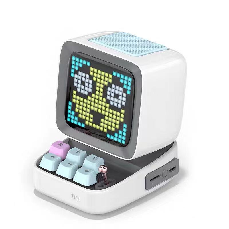 Divoom Ditoo Pixel Display Bluetooth Speaker in white