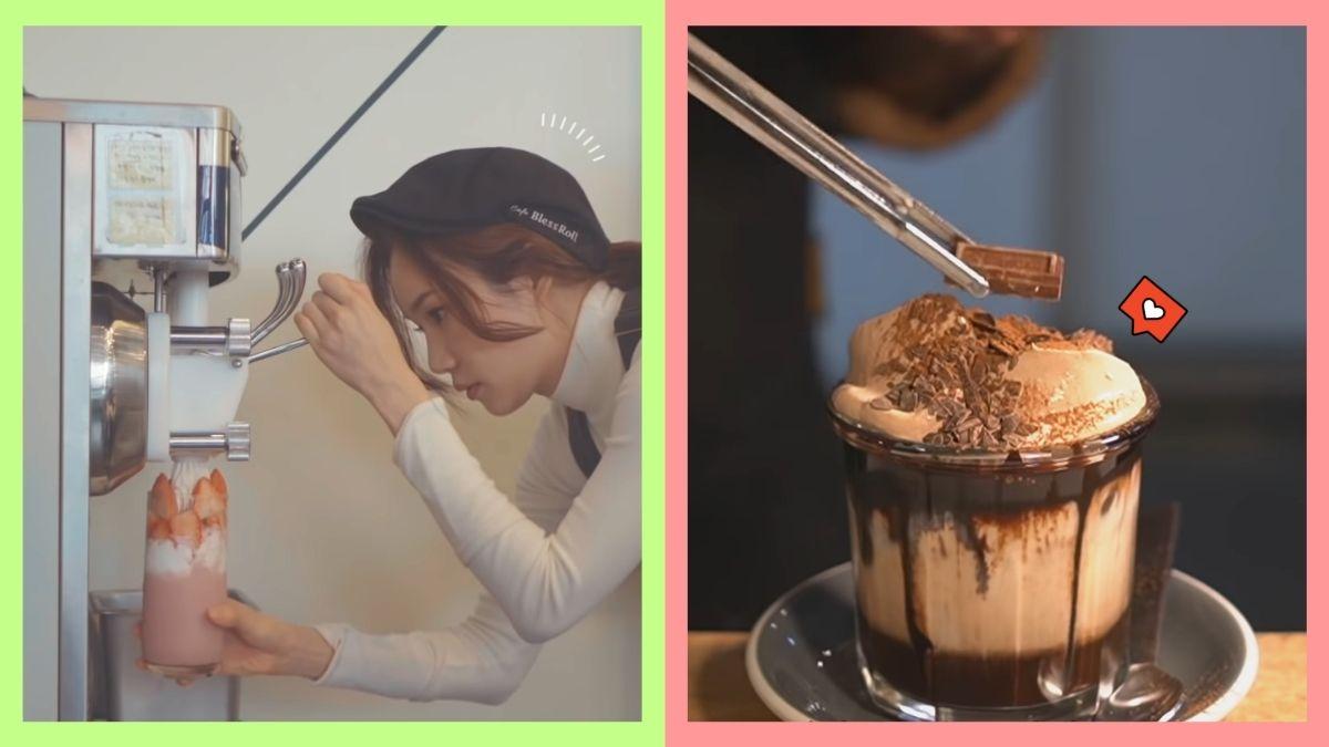 Korean coffee shop vloggers