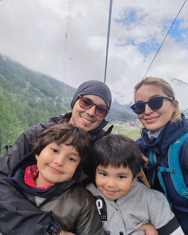 sarah lahbati switzerland family