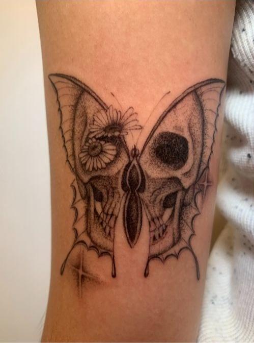 tattoo by tattoo artist Drew Cortez