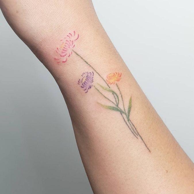tattoo by tattoo artist Kara Gonzales