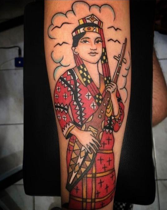 tattoo by tattoo artist Minnie Calleja