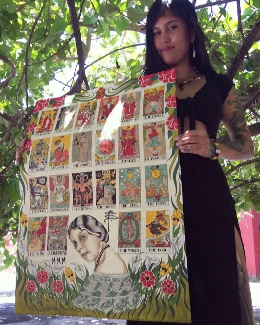 Pinay tattoo artist: Minnie Calleja