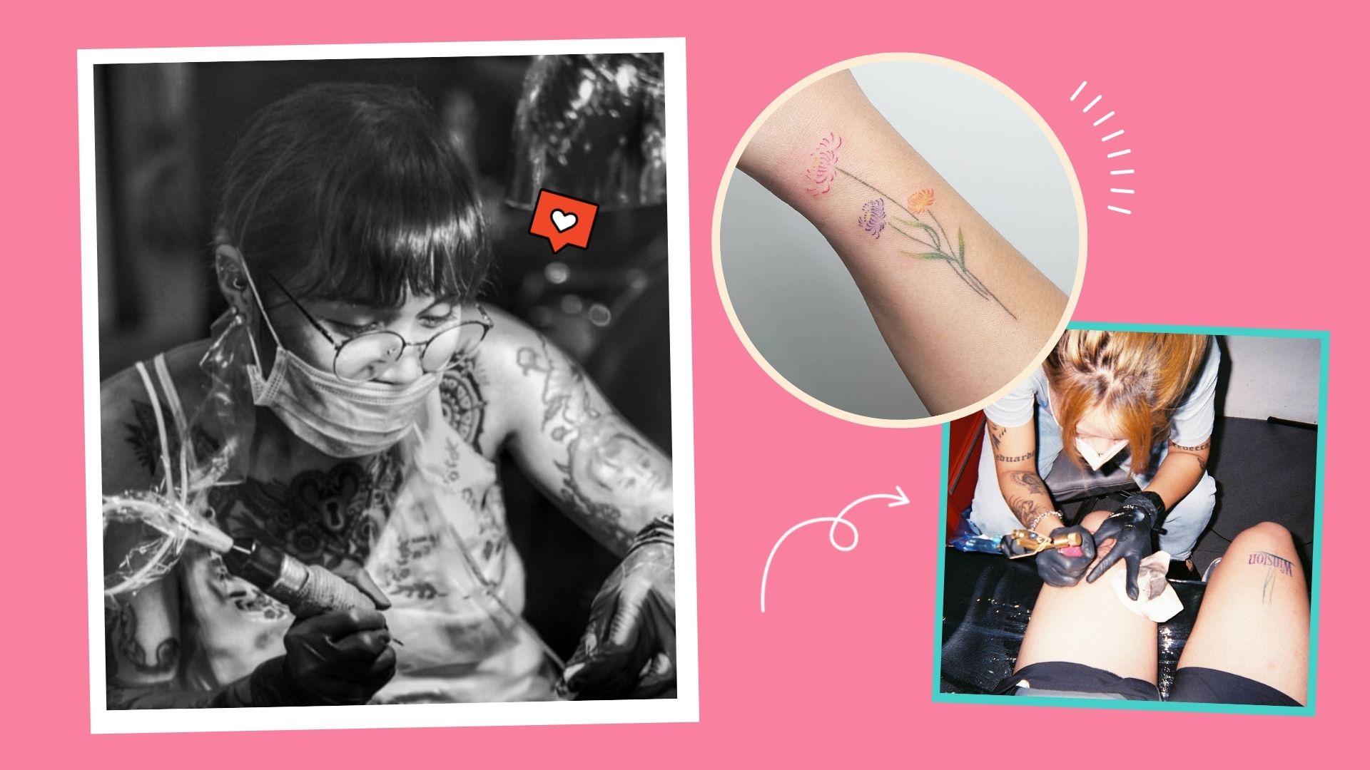 Pinay tattoo artists, tattoos