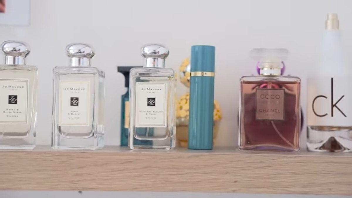 LORIN GUTIERREZ - room tour, perfume collection