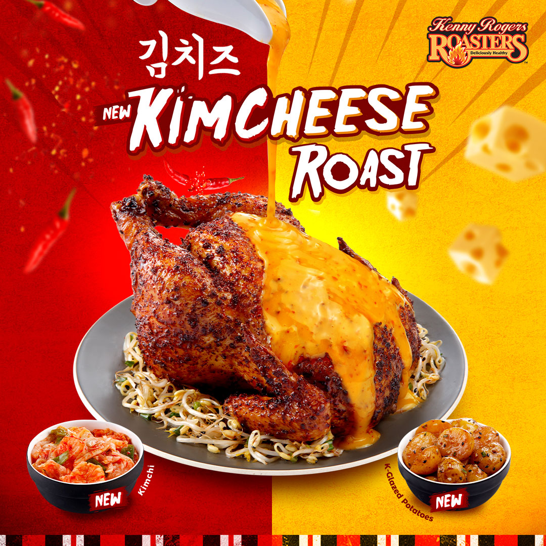 Kenny Roger's Kimcheese Roast