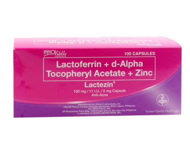 Lactezin Anti-Acne Capsules