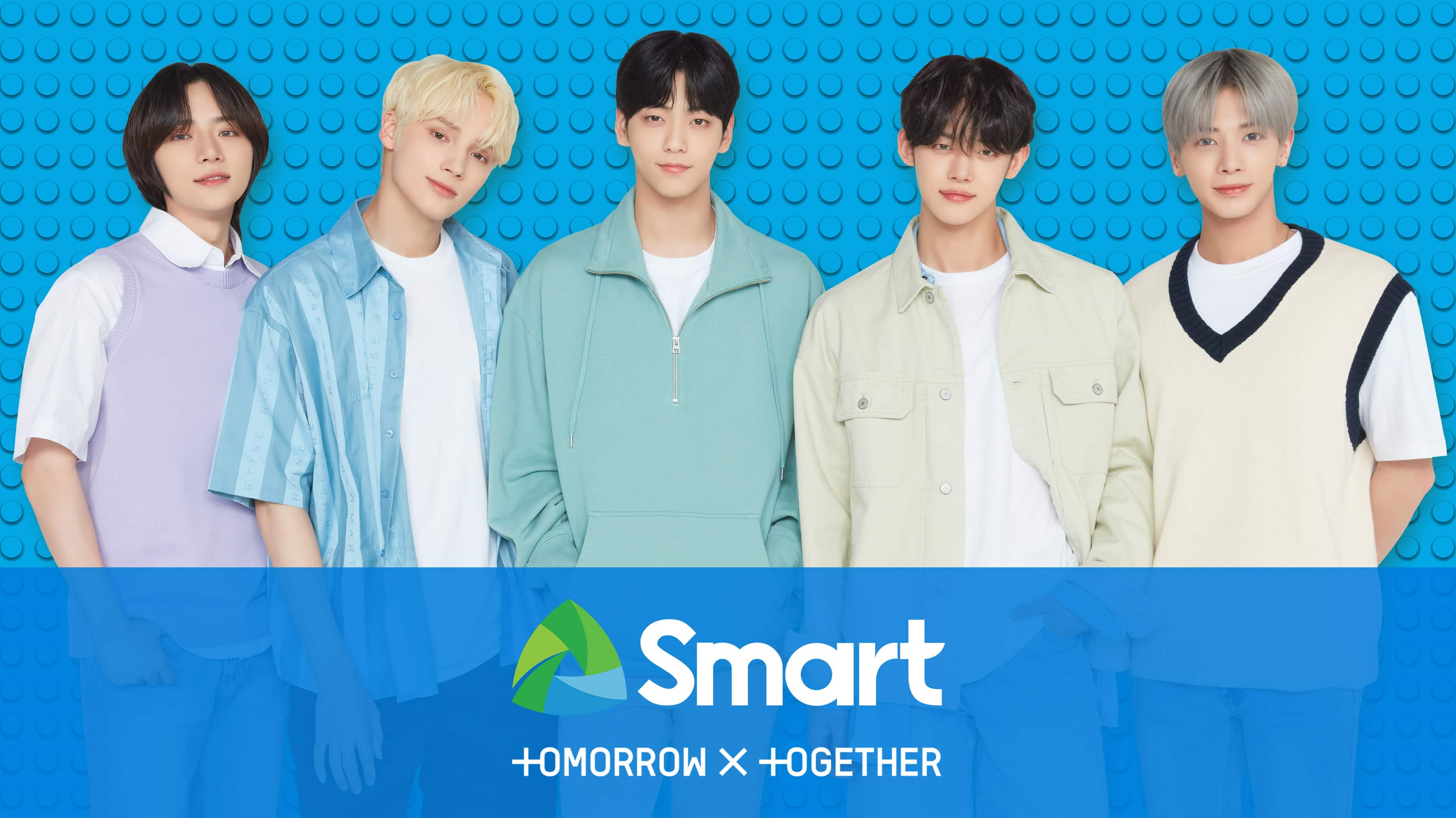 TOMORROW X TOGETHER is Smart's newest endorser