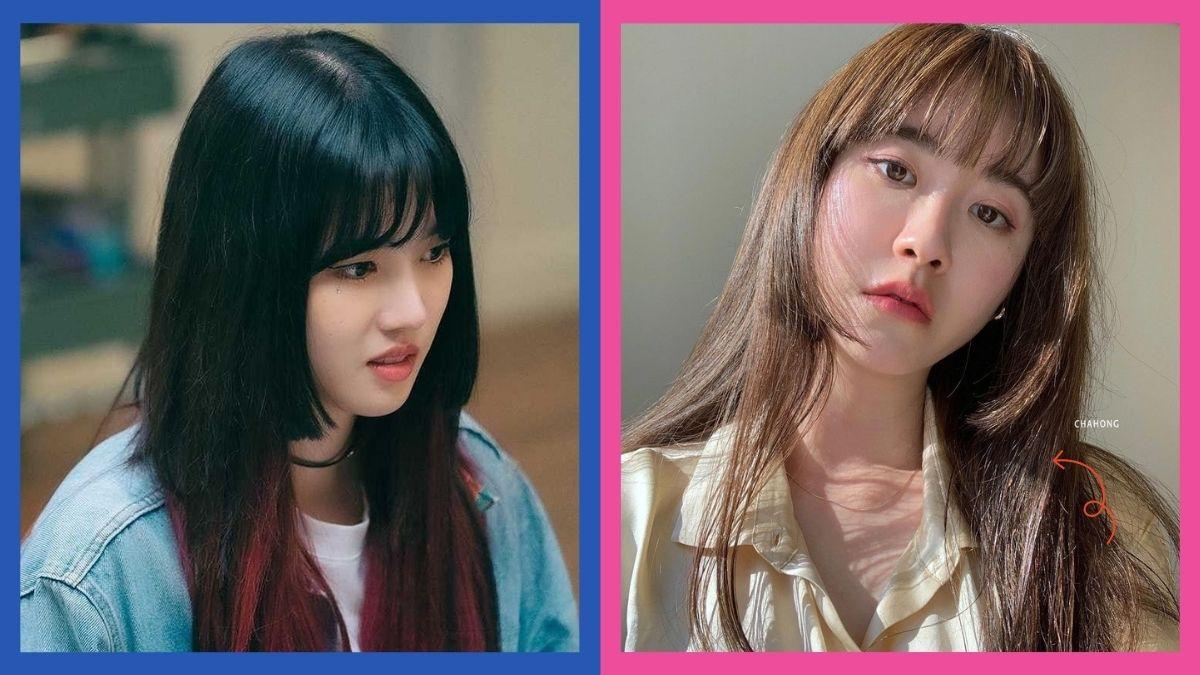 Cute Korean two block haircut ideas