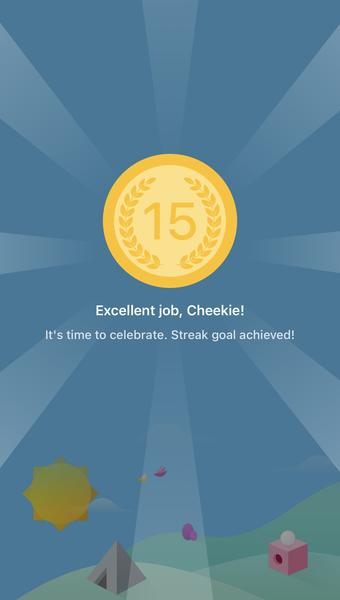 Fabulous app streak
