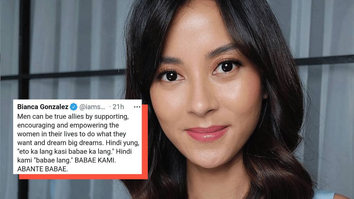 Bianca Gonzales' Clapback After A Basher Questioned Her Abante Babae Post