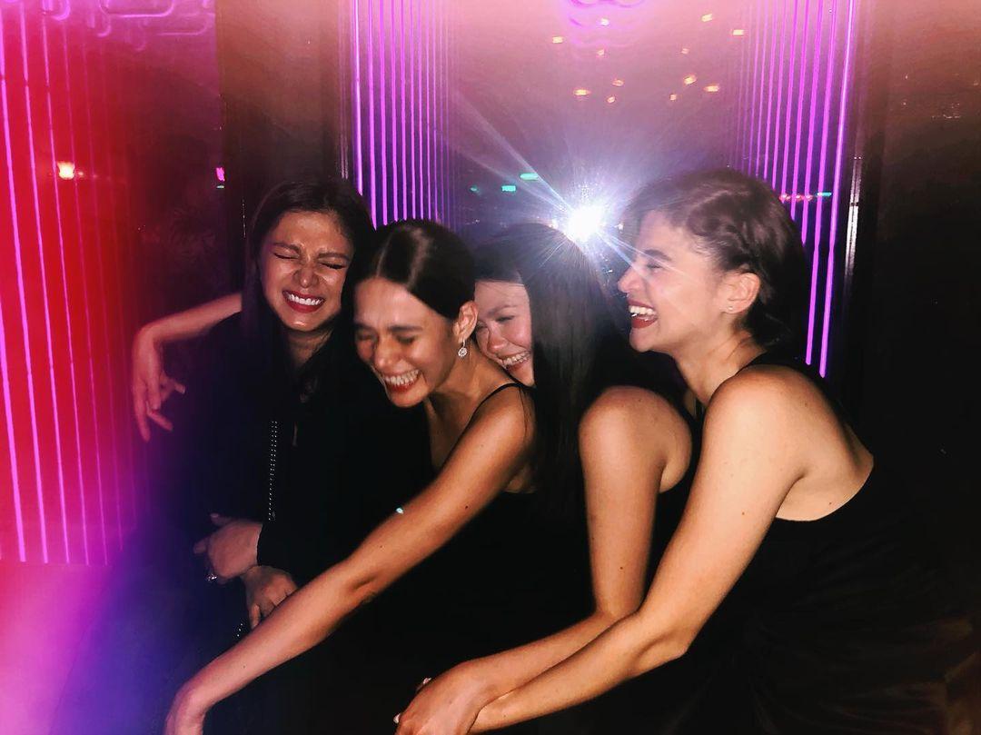 Celebrity friendships: Angel Locsin, Anne Curtis, Bea Alonzo, Angelica Panganiban