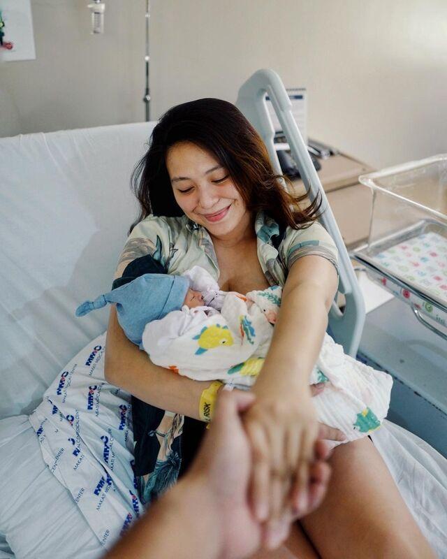 joyce pring gives birth