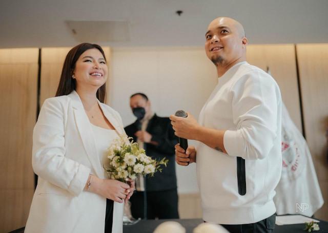 Angel Locsin and Neil Arce got married
