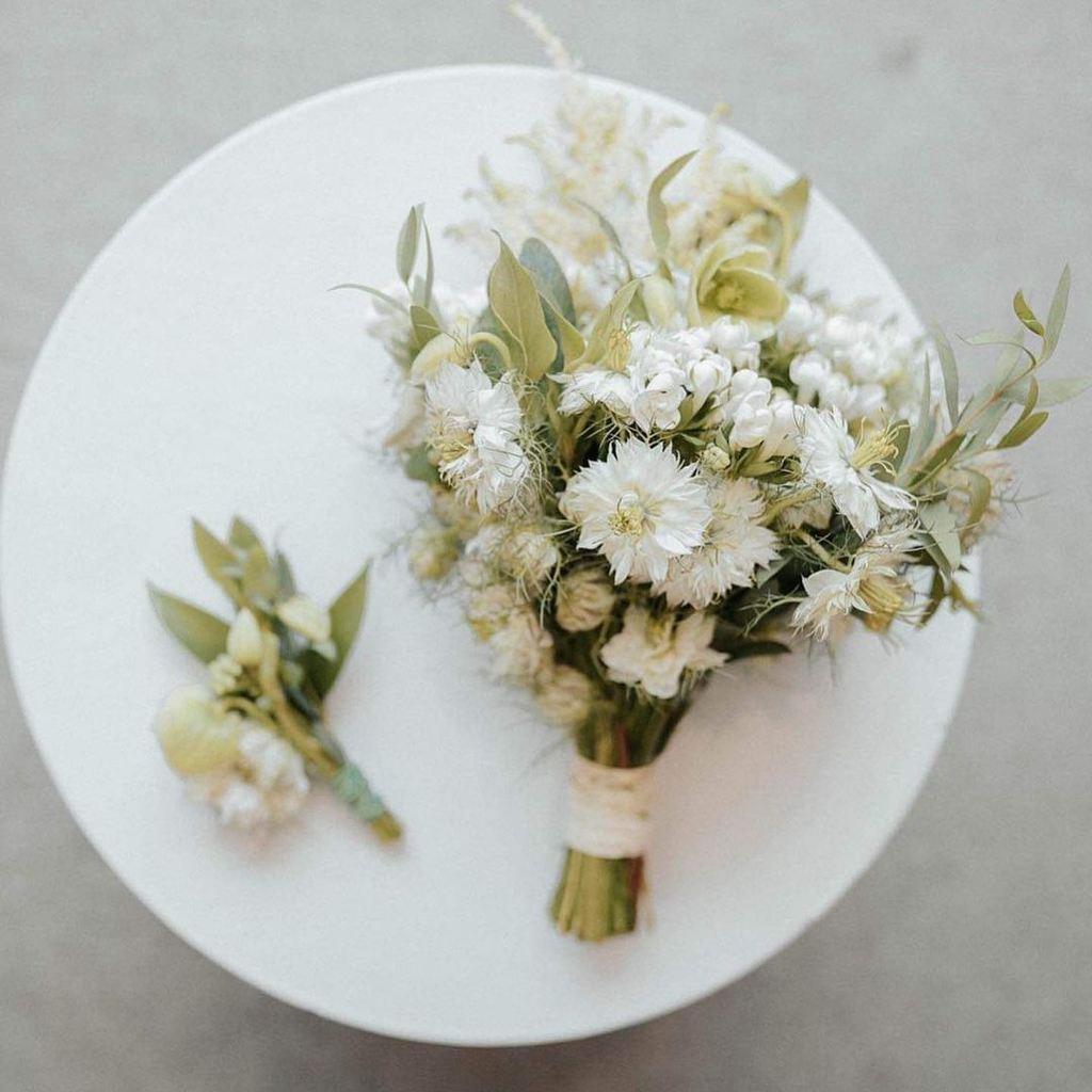 Angel Locsin's wedding bouquet meaning