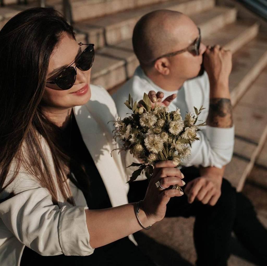 Angel Locsin's wedding bouquet