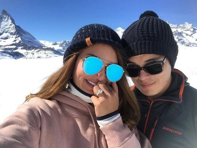 sarah lahbati and richard gutierrez engagement