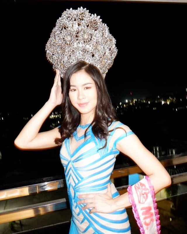 kisses delavin pageant throwback miss masbate